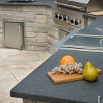 Outdoor granite top