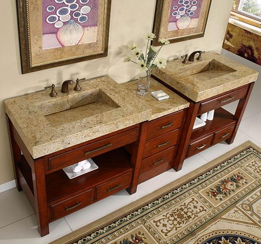 Beautiful Bathroom Vanity Countertops With Sink Ideas - Home ...