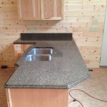 Sapphire Brown Granite with Ogee Edge